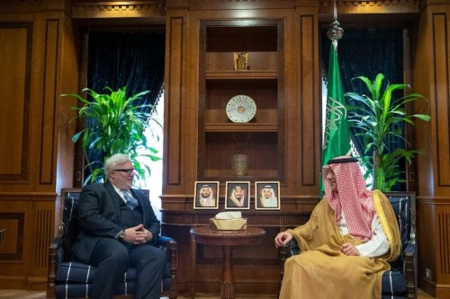 Special Envoy for Syria Joel Rayburn Joel Rayburn meets with Saudi officials [Twitter]