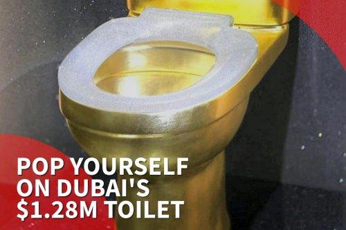 Thumbnail - Dubai gets $1.28m diamond toilet