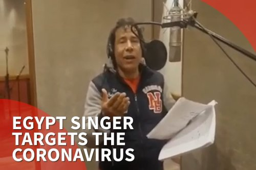Thumbnail: Egypt singer targets the coronavirus