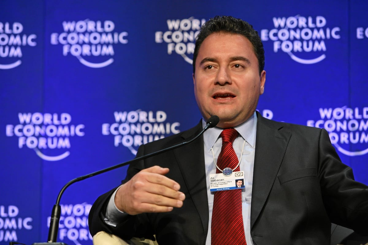 Ali Babacan, Turkish politician and Former Minister of Foreign Affairs, at the World Economic Forum Annual Meeting 2009. [Wikimedia]