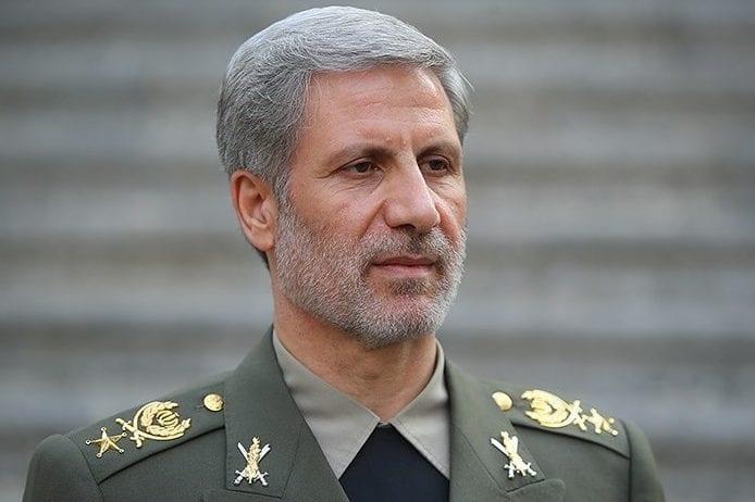 Iranian Defence Minister Amir Khatami [Wikipedia]