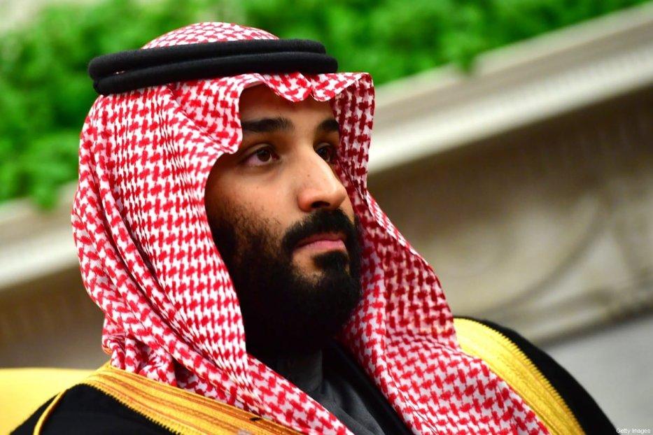 Saudi Arabia's Crown Prince Mohammed Bin Salman n Washington, US on 20 March 2018 [Kevin Dietsch-Pool/Getty Images]