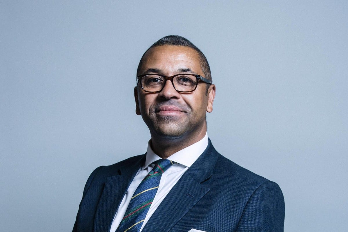 The British Minister of State for the Middle East and North Africa, James Cleverly, 27 July 2017 [James Cleverly/Facebook]