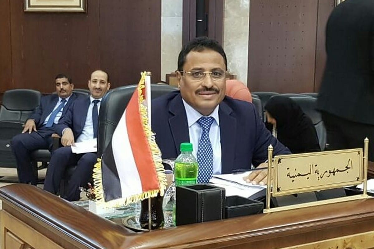 Former Yemeni Minister of Transport, Saleh Al-Jabwani [Twitter]