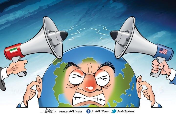 The US-Iran conflict [Cartoon/Arabi21]