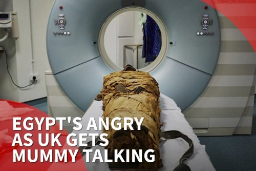 Thumbnail - Egypt's angry as the UK gets Mummy talking