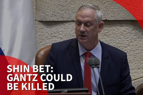 Thumbnail 0 Benny Gantz could be assassinated, warns Israel's Shin Bet