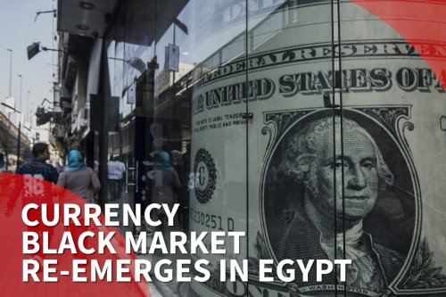 Thumbnail: Currency black market re-emerges in Egypt because of coronavirus