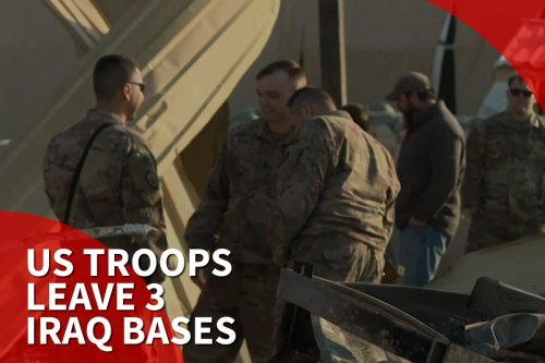 Thumbnail - US to move troops out of 3 bases in Iraq