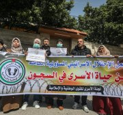Israel tells Palestinian prisoners, 'Use your socks to make masks,' as neglect continues