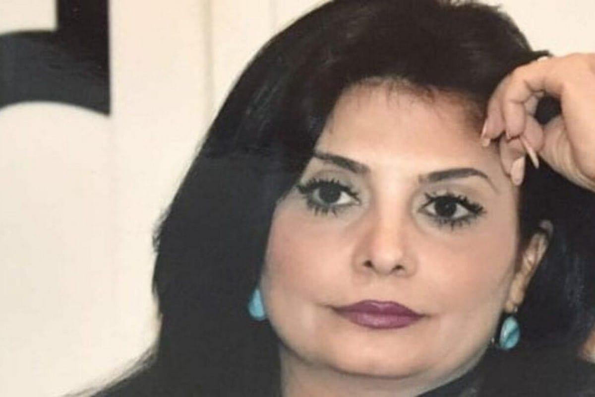 TV anchor Dalia Badran, 20 April 2020 [AlkawazAhmad/Twitter]