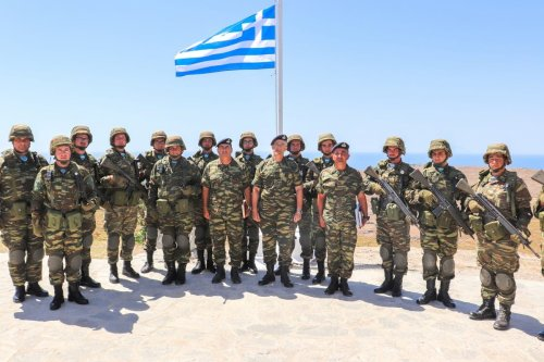 Members of the Greek army on 2 July 2019 [army.gr]