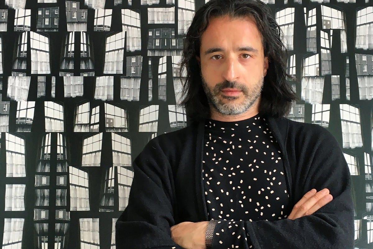 Palestinian artist Steve Sabella [Naima Morelli]