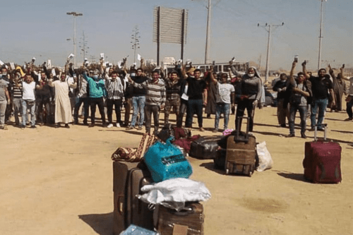 Stranded Egyptians in Qatar [Twitter]