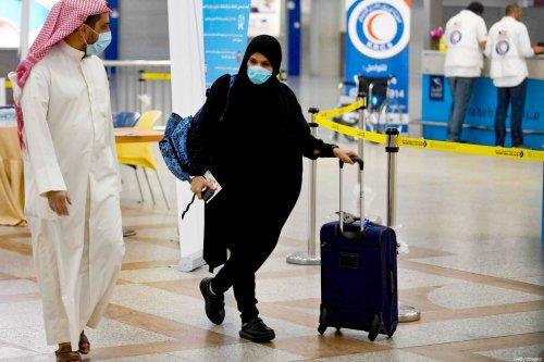 Kuwait International Airport, south of the capital Kuwait City on 3 May 2020 [YASSER AL-ZAYYAT/AFP/Getty Images]