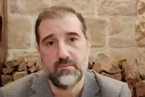 Rami Makhlouf, a wealthy businessman and the cousin of Syrian President Bashar Al-Assad, 3 May 2020 [Twitter]