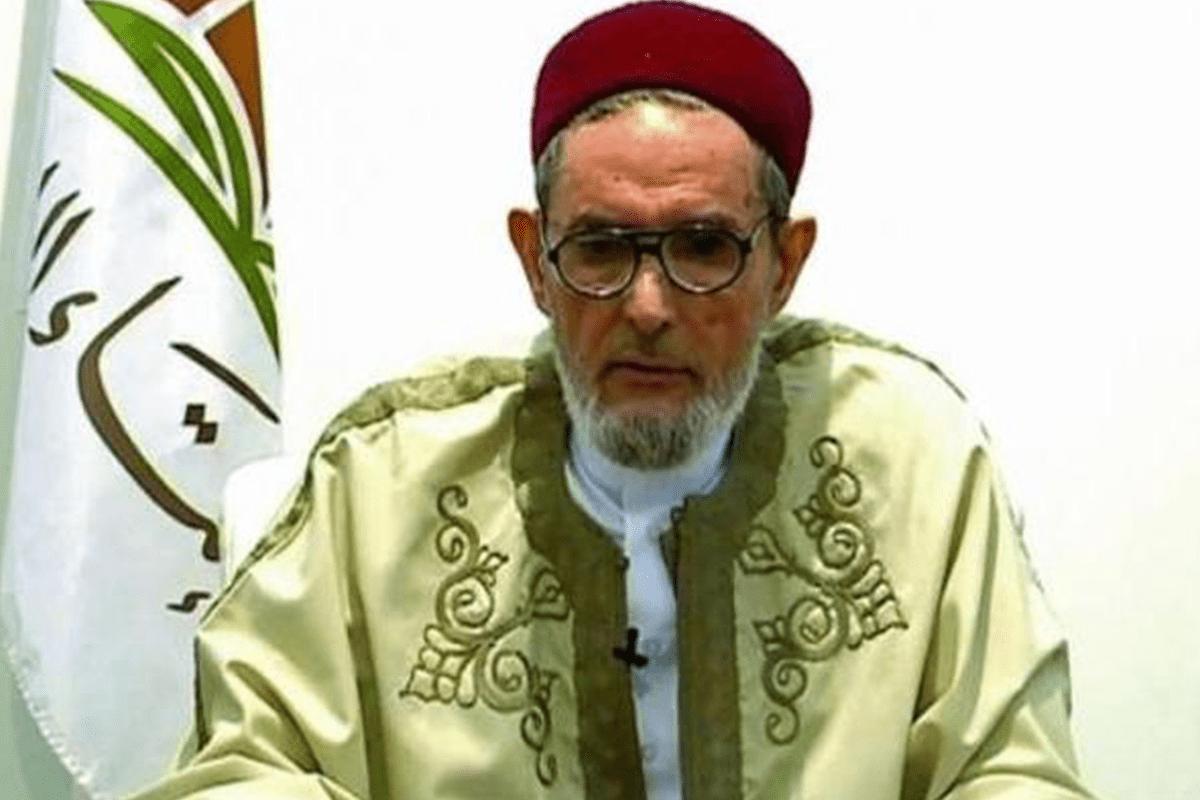 Libya's Grand Mufti Sadiq Al-Ghariani [Al-Sharq]