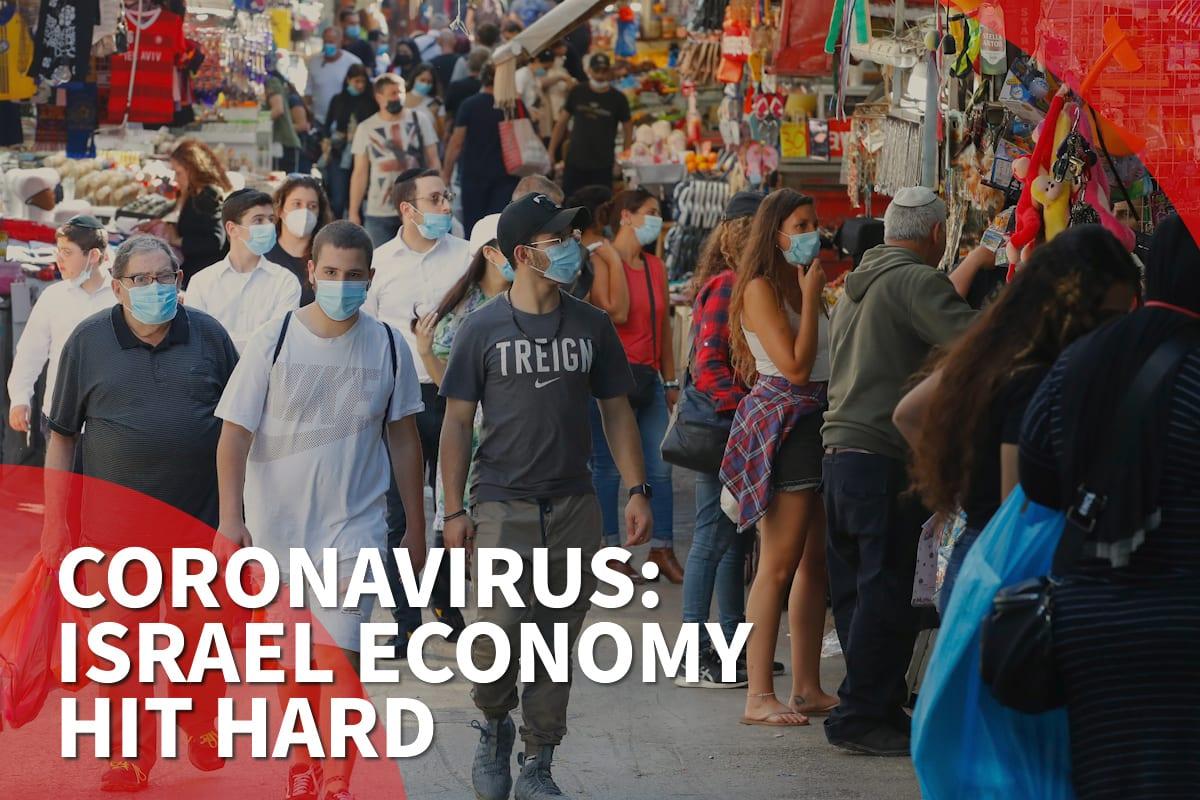 Israel economy shrinks by 7.1% amid coronavirus lockdown