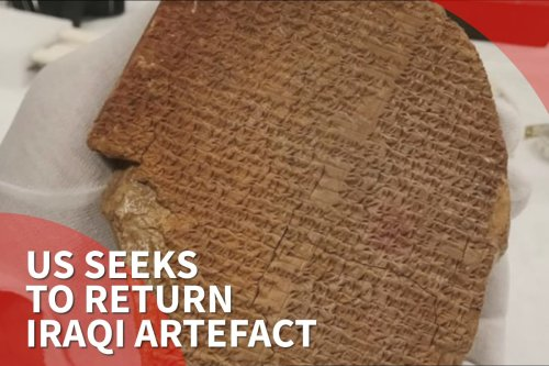 Thumbnail - US seeks to confiscate and return 3,600-year-old artefact to Iraq