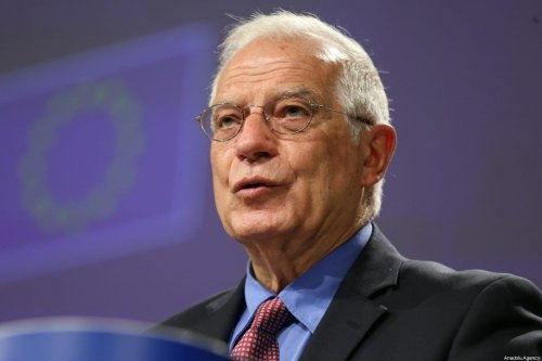 European High Representative of the Union for Foreign Affairs, Josep Borrell at a press conference in Brussels, Belgium on 9 June 2020 [Dursun Aydemir/Anadolu Agency]
