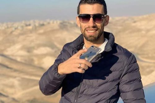 Ahmed Erekat, a 27 year old Palestinian man was killed by Israeli soldiers near a checkpoint in Abu Dis
