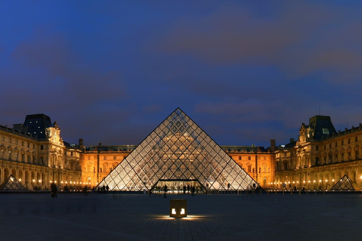 The Louvre, in Paris, France, 26 June 2020 [Wikipedia]