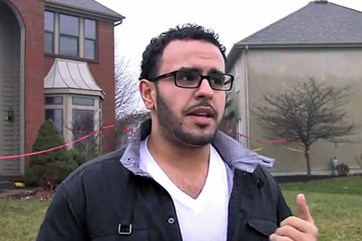 Former political prisoner Mohamed Soltan, 15 April 2016