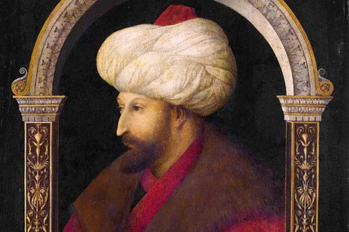 Portrait of Ottoman Sultan Mehmed II, 30 March 2015