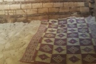 The small room in which Fadia, a 56-year-old Egyptian women was forced to stay in by her brother for 22 years in Egypt, 4 July 2020 [masralarabia/Twitter]