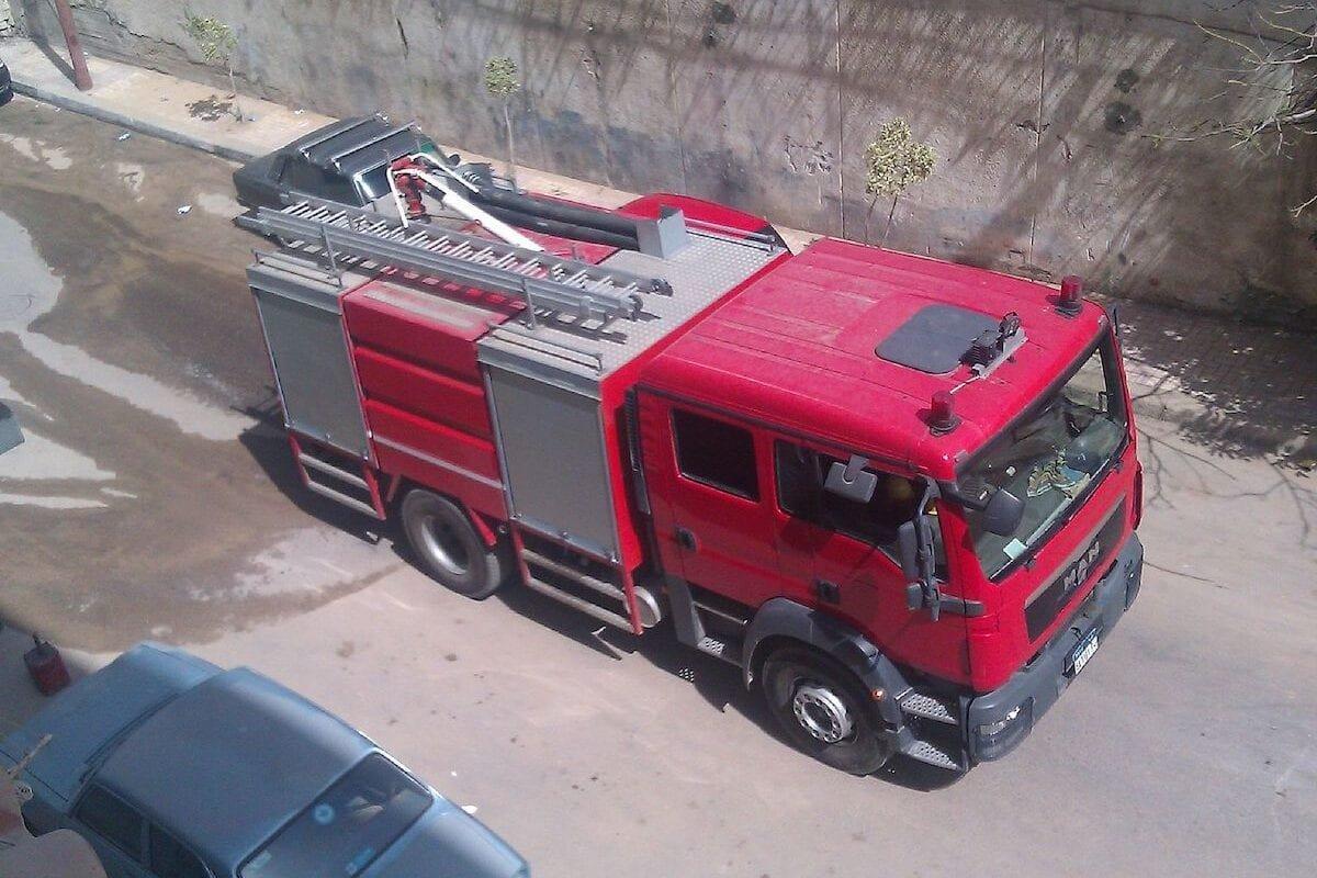Firefighting vehicle in Egypt [Wikipedia]