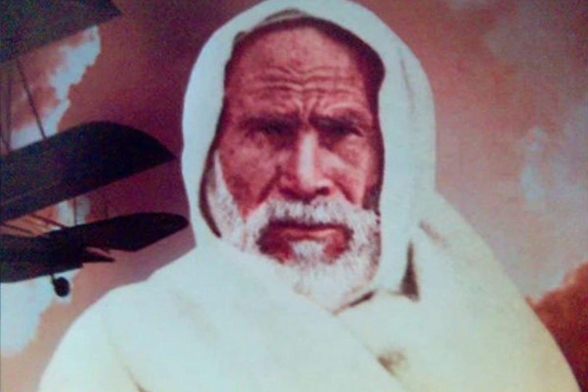 Libyan freedom fighter Omar Al-Mukhtar