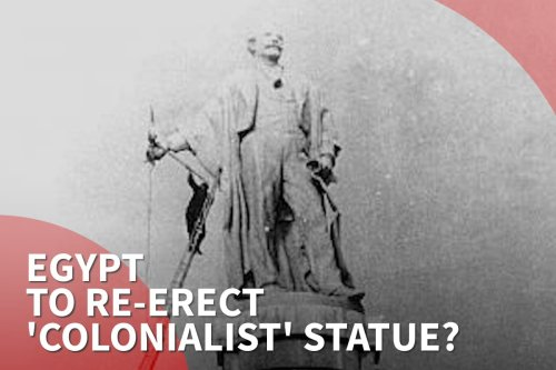 Thumbnail - Egypt proposal to re-erect 'colonialist' Suez Canal statue stirs controversy