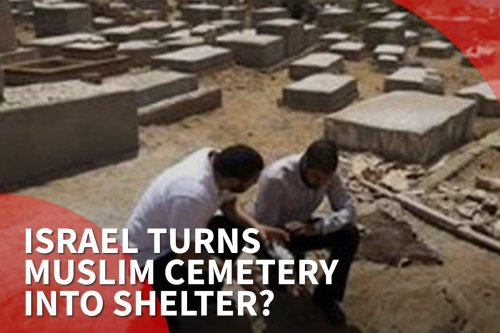 Thumbnail: Israel to destroy Muslim cemetery to build homeless shelter