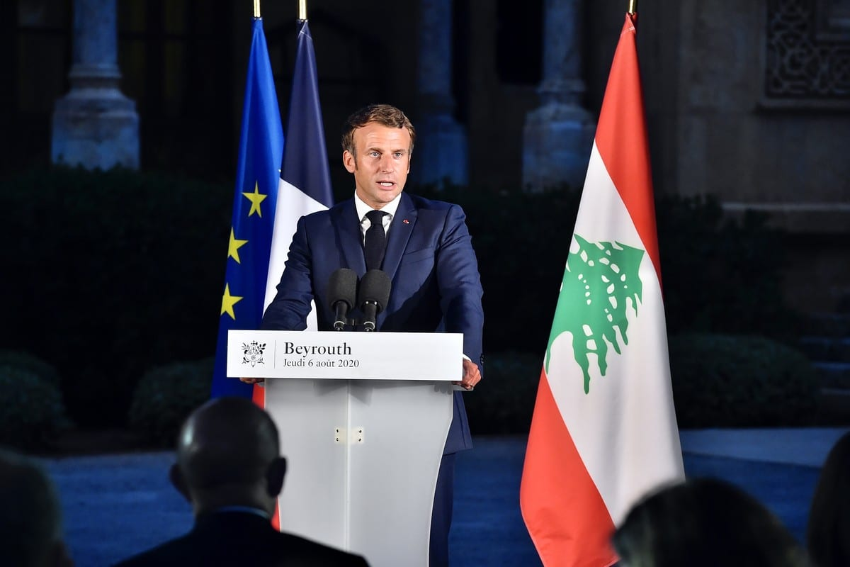 Hands Off Lebanon Macron S Self Serving New Pact Must Be Shunned Middle East Monitor
