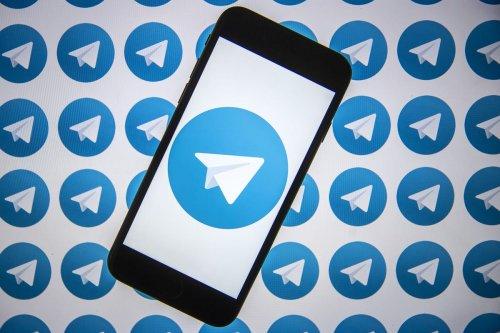 "ANKARA, TURKEY - AUGUST 7: The logo of instant messaging platform ""Telegram"" is displayed on a smartphone in Ankara, Turkey on August 7, 2020 [Ali Balıkçı - Anadolu Agency]"