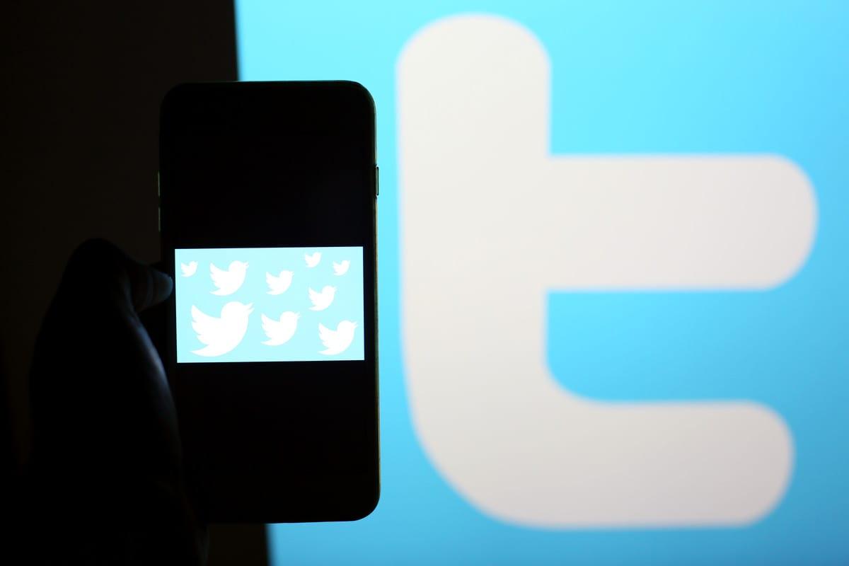 Twitter logo [Mehmet Kaman - Anadolu Agency]