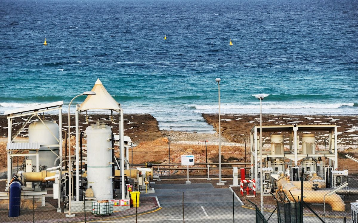 A view of a desalination plant in the Omani port city of Sur, south of the capital Muscat, on 27 November 2019. [SULTAN AL-HASANI/AFP via Getty Images]