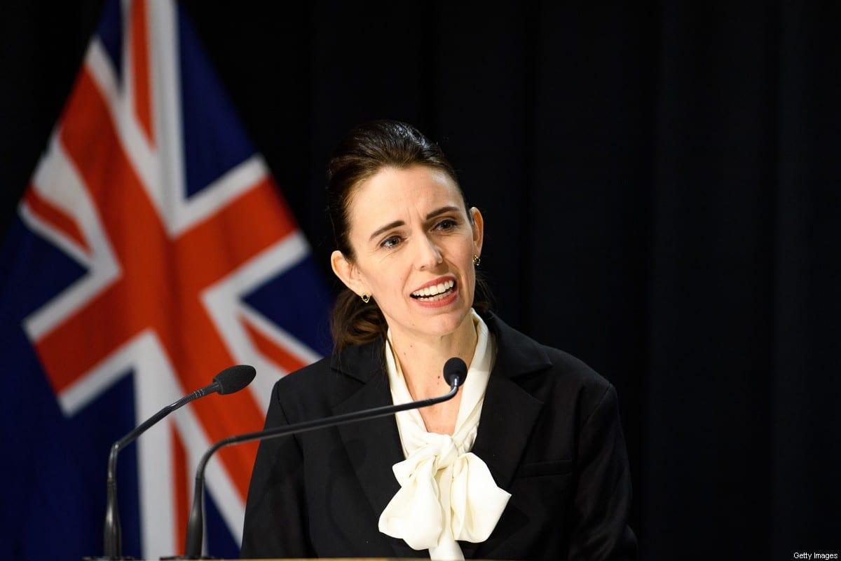 Prime Minister Jacinda Ardern on 13 August 2020 in Wellington, New Zealand. [Mark Tantrum/Getty Images]