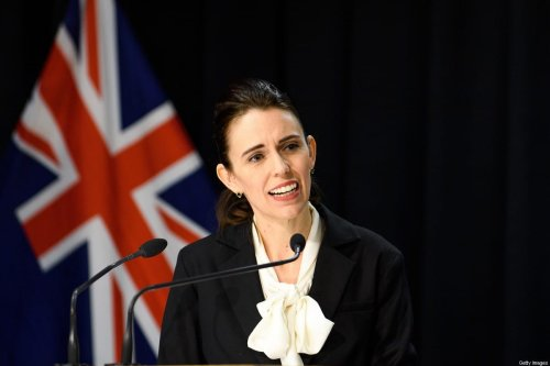 Prime Minister Jacinda Ardern on 13 August 2020 in Wellington, New Zealand. [Mark Tantrum/Getty Images]