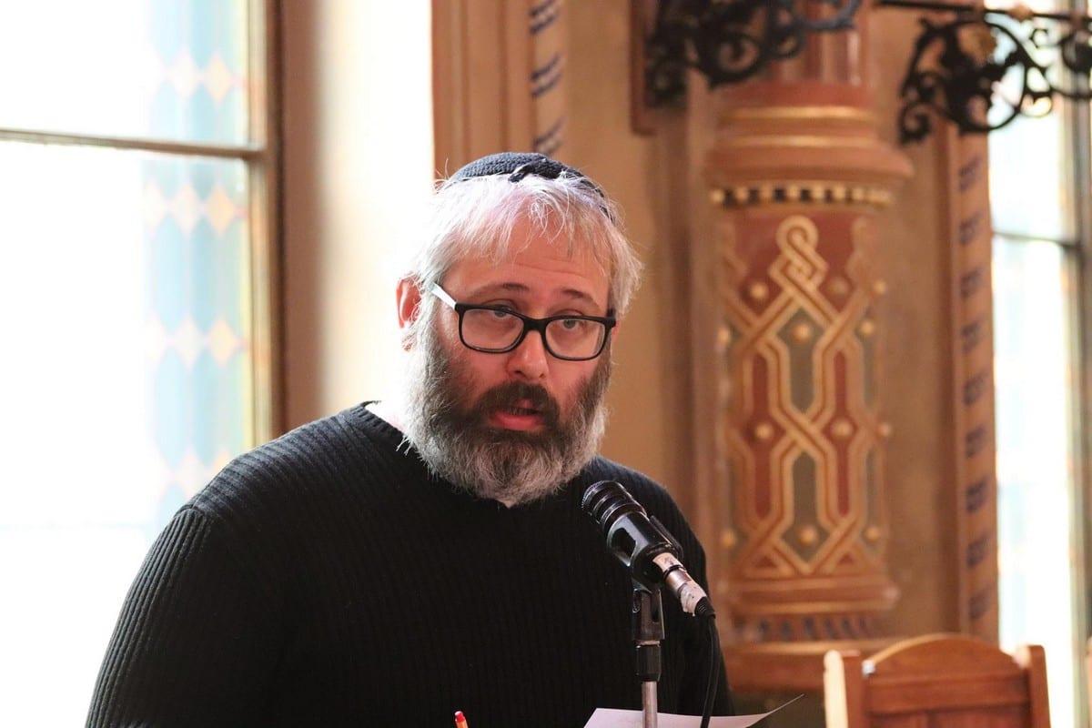 Rabbi Gabor Finali, 16 December 2017 [MAZSIHISZ-Magyarországi Zsidó Hitközségek Szövetsége/Facebook]