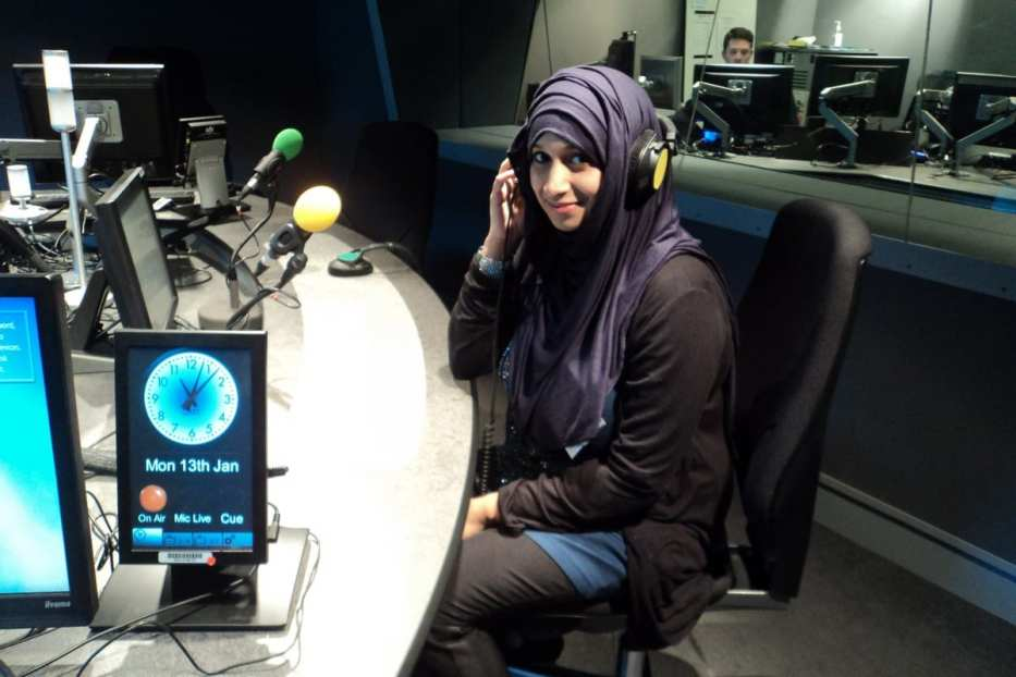 Tasnim Nazeer in studio [Middle East Monitor]