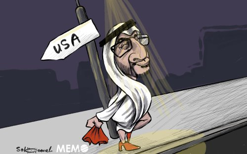 The UAE's perfidious normalisation plan with Israel - Cartoon [Sabaaneh/MiddleEastMonitor]