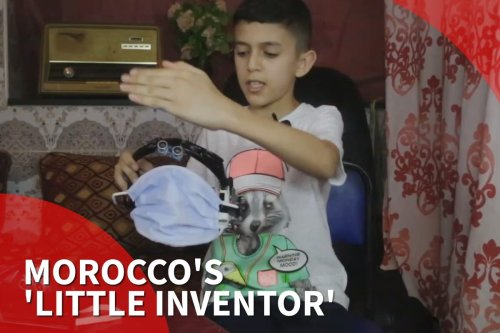 Smart coronavirus mask: Meet Morocco's 'little inventor''