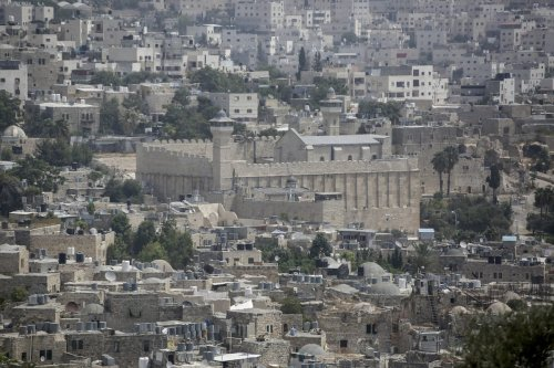 General view of Ibrahimi Mosque and surroundings in Hebron, West Bank on 1 September 2020. [Issam Rimawi - Anadolu Agency]