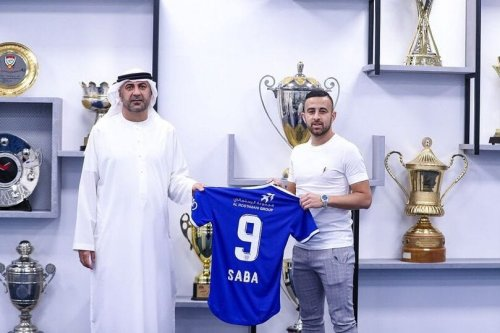 Israeli player Diaa Sabia was signed by Dubai's Al-Nasr. The first Israeli to be signed by an Arab team [@Ostrov_A/Twitter]
