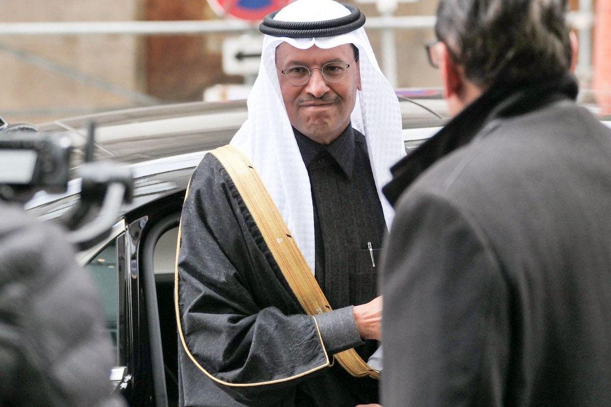 Saudi Minister of Energy Prince Abdulaziz bin Salman al-Saud arrives for the 177th Organization Of Petroleum Exporting Countries (OPEC) meeting in Vienna, Austria, on 5 December 2019. [JOE KLAMAR/AFP via Getty Images]