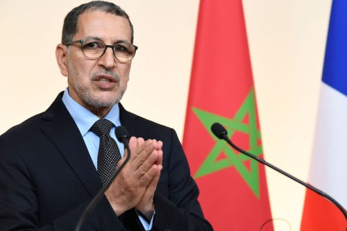 Morocco's Prime Minister Saad-Eddine El Othmani in Paris on 19 December 2019. [BERTRAND GUAY/AFP via Getty Images]