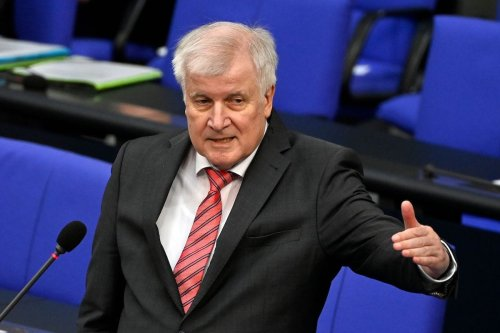 German Interior Minister Horst Seehofer gestures as he answers MP's questions during a session at the German Bundestag (lower house of parliament) in Berlin on 16 September 2020. [JOHN MACDOUGALL/AFP via Getty Images]