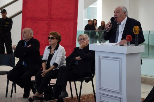 Literary competition in Tunis on October 27, 2015 [FETHI BELAID/AFP via Getty Images]