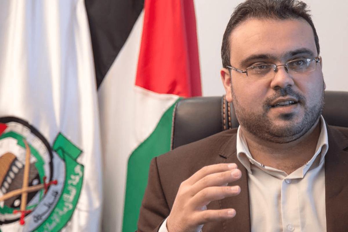 Hamas spokesman Hazem Qasem [Twitter]